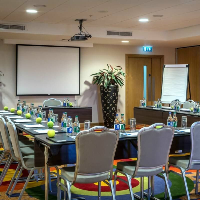 One Of Our 7 Meeting Rooms Set U Shape